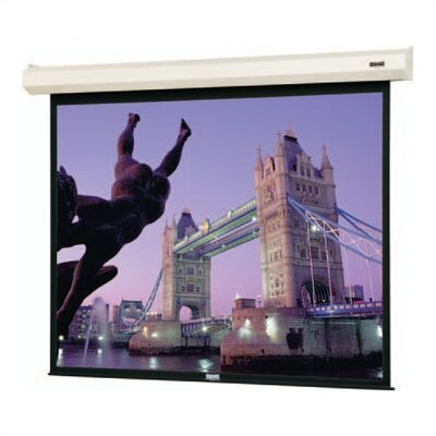 Cosmopolitan Electrol Motorized Matte White Electric Projection Screen Viewing Area: 52 H x 92 W