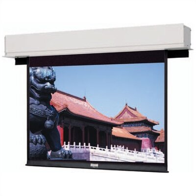 Advantage Deluxe Electrol Matte White Electric Projection Screen Viewing Area: 9 H x 12 W