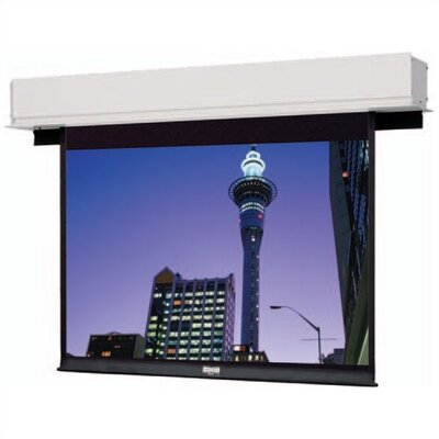 Senior Electrol Matte White Electric Projection Screen Viewing Area: 9 H x 9 W