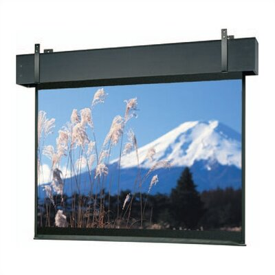 Professional Electrol Matte White Electric Projection Screen Viewing Area: 12 H x 12 W