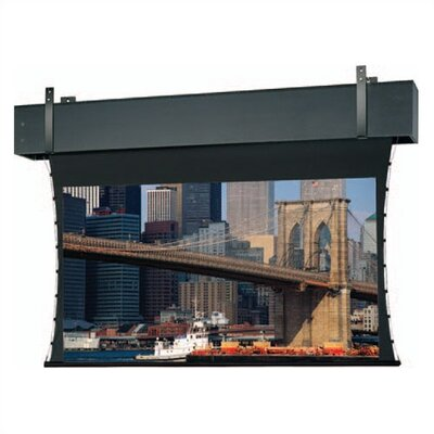 Tensioned Professional Electrol White Electric Projection Screen Viewing Area: 210 diagonal