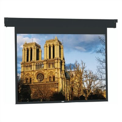 Horizon Electrol Matte White Electric Projection Screen Viewing Area: 50 H x 67 W