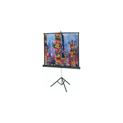 Versatol Matte White Portable Projection Screen Viewing Area: 60 H x 60 W