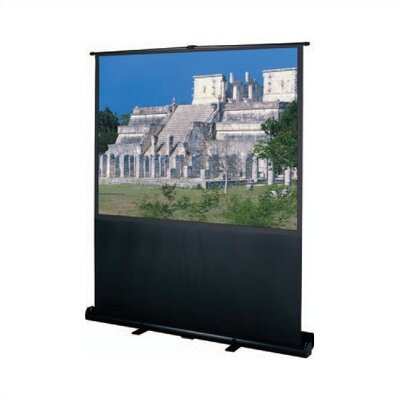 Black 60 Diagonal Manual Projection Screen