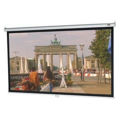 Model B Matte White Manual Projection Screen Viewing Area: 40 H x 40 W