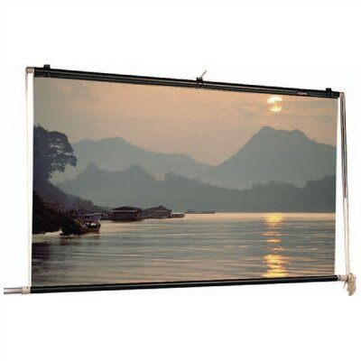 Scenic Roller Matte White Manual Projection Screen Viewing Area: 6 H x 16 W