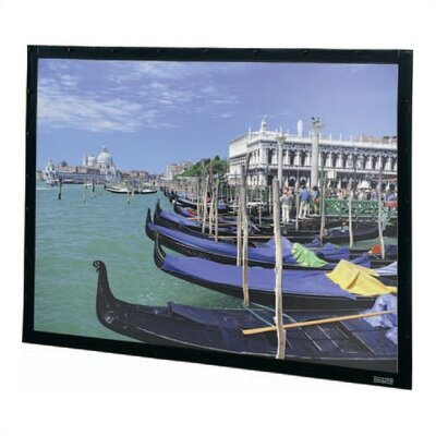 Perm-Wall Black Fixed Frame Projection Screen Viewing Area: 108 H x 144 W