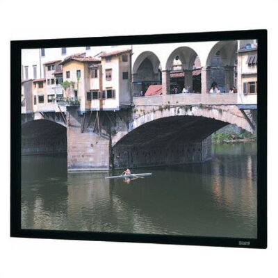 Imager Black Fixed Frame Projection Screen Viewing Area: 57.5 H x 77 W