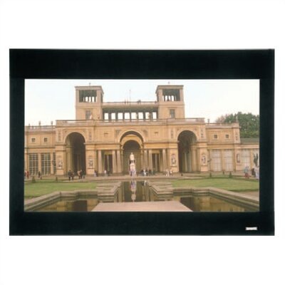Imager Black Fixed Frame Projection Screen Viewing Area: 58 H x 104 W