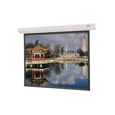 Designer Contour Electrol Matte White Electric Projection Screen Viewing Area: 60 H x 60 W