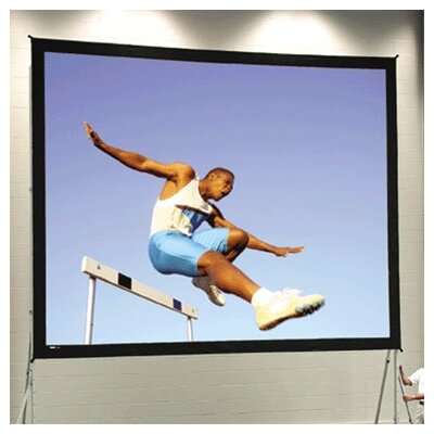 Fast Fold Deluxe 102 H x 172 W Portable Projection Screen