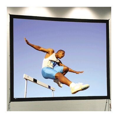Fast Fold Deluxe Portable Projection Screen Viewing Area: 76 H x 134 W