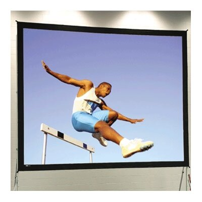 Fast Fold Portable Projection Screen Viewing Area: 113 H x 20 W
