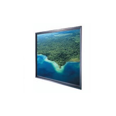 Thru-the-Wall Rear Fixed Frame Projection Screen Viewing Area: 52 H x 92 W