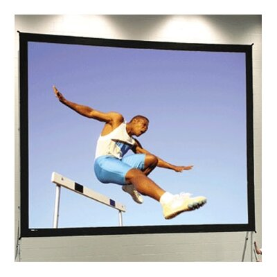 Fast Fold Deluxe Portable Projection Screen Viewing Area: 7 H x 9 W