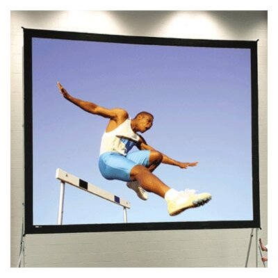 Fast Fold Deluxe 300 Diagonal Portable Projection Screen