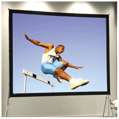 Fast Fold Deluxe 108 H x 144 W Portable Projection Screen