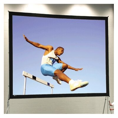 Fast Fold Deluxe 210 Diagonal Portable Projection Screen