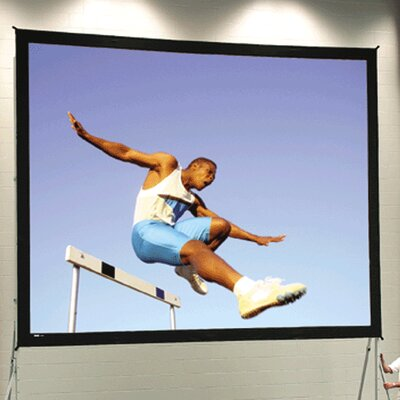 Fast Fold Deluxe 96 H x 288 W Portable Projection Screen