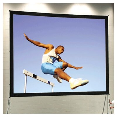 Fast Fold Deluxe Ultra Wide Angle 150 Diagonal Portable Projection Screen