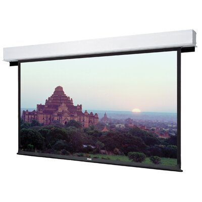Advantage Deluxe Electrol Matte White Manual Projection Screen Viewing Area: 65 H x 104 W