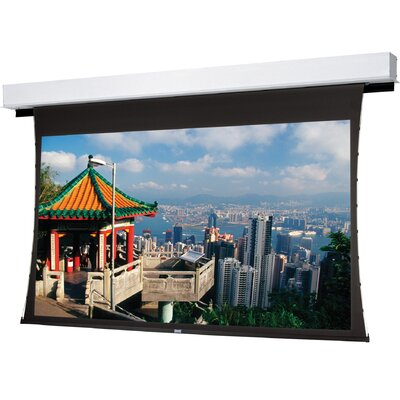 Tensioned Advantage Deluxe Electrol Electric Projection Screen Viewing Area: 78 H x 139 W