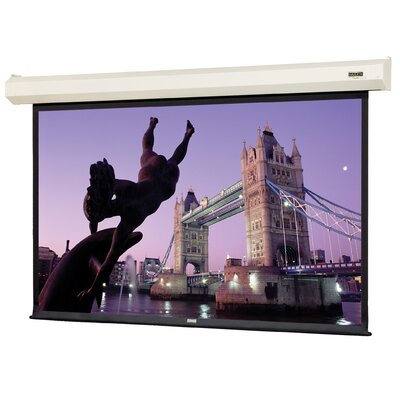Cosmopolitan Electrol Matte White Electric Projection Screen Viewing Area: 65 H x 104 W
