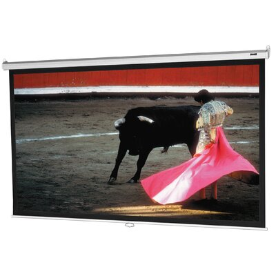 Model B with CSR Matte White 60 H x 60 W Manual Projection Screen