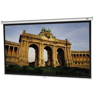 Model B Matte White 77 Diagonal Manual Projection Screen
