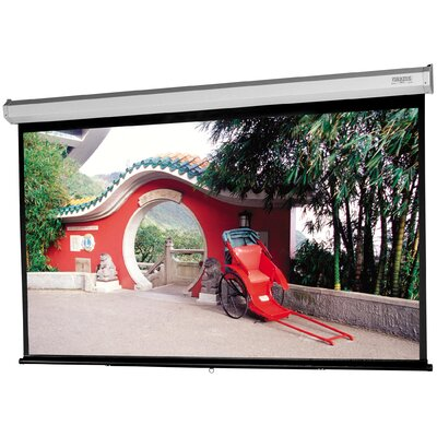 Model C with CSR Matte White Manual Projection Screen Viewing Area: 65 H x 104 W