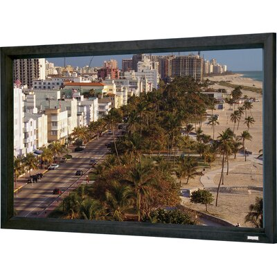 Cinema Contour Fixed Frame Projection Screen Viewing Area: 58 H x 136.5 W