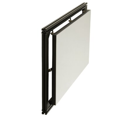White Fixed Frame Projection Screen Size: 24 H x 48 W