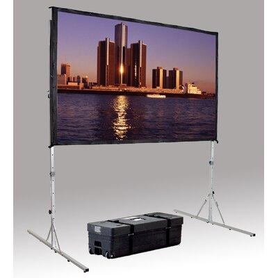 """Da-Lite Fast Fold Deluxe Da - Mat 96"""" H x 168"""" W Portable Projection Screen at Sears.com"""