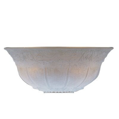 12 Glass Ceiling Fan Bowl Shade Finish: Champagne
