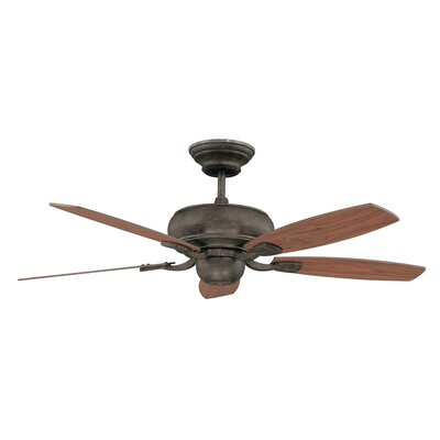 52 Roosevelt 5-Blade Ceiling Fan Finish: Aged Pecan