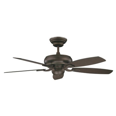 52 Roosevelt 5-Blade Ceiling Fan Finish: Oil Rubbed Bronze