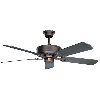 60 Madison 5-Blade Ceiling Fan Finish: Oil Rubbed Bronze with Oil Rubbed Bronze Blades