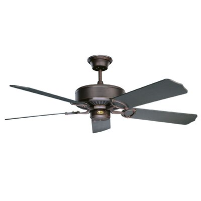 52 Madison 5-Blade Ceiling Fan Finish: Oil Rubbed Bronze with Oil Rubbed Bronze Blades
