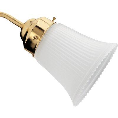 4.88 Glass Bell Ceiling Fan Fitter Shade