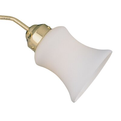 5 Glass Bell Ceiling Fan Fitter Shade