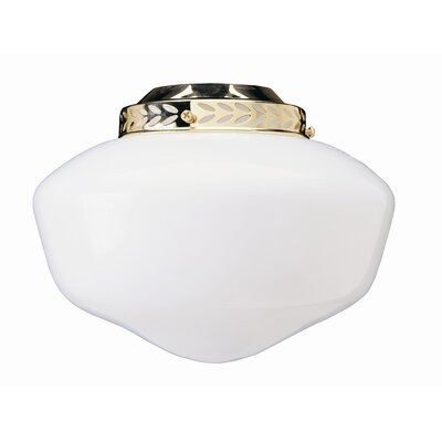 4 Glass Ceiling Fan Bowl Shade