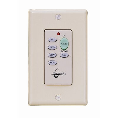 Wireless Ceiling Fan Wall Control unit in White