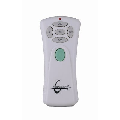 Remote and Wall Control Set in White