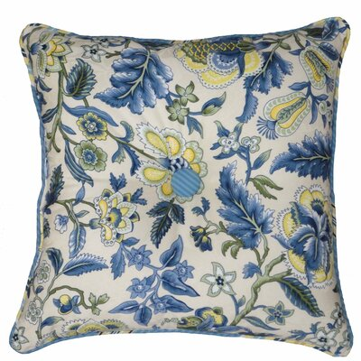 Imperial Dress Garden Path Reversible Cotton Throw Pillow