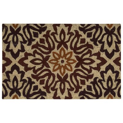 Greetings Sweet Things Doormat Mat Size: Rectangle 2 x 3, Color: Brown