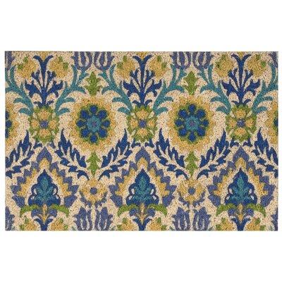 Greetings Santa Marie Bluebell Doormat Rug Size: 2 x 3