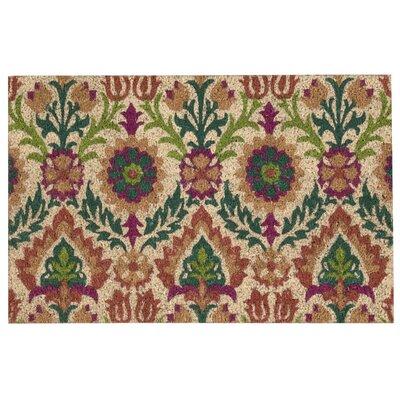 Greetings Santa Marie Clay Doormat Rug Size: 2 x 3