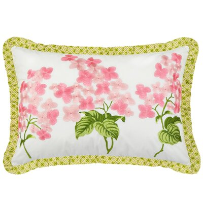 Emmas Garden Cotton Lumbar Pillow