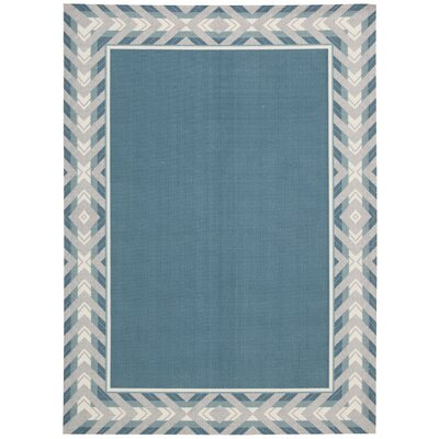 Sun n Shade Full of Zip Delft Indoor/Outdoor Area Rug Rug Size: Rectangle 79 x 1010