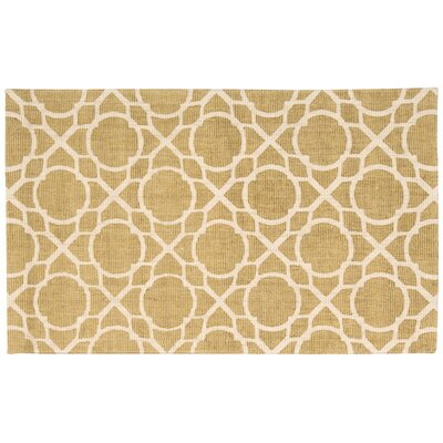 Color Motion Perfect Fit Hand-Woven Gold Area Rug